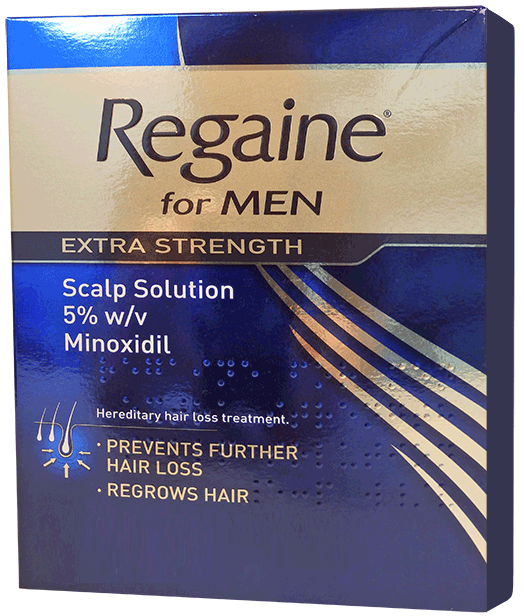 Regaine solution